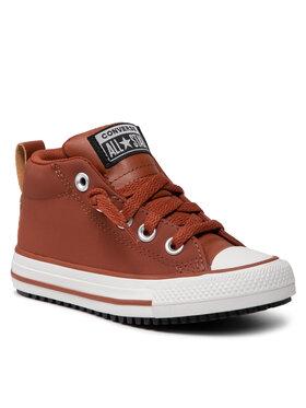Converse Converse Кецове Ctas Street Boot Mid 671519C Кафяв
