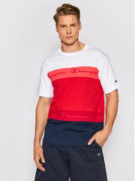 Champion Champion Marškinėliai Graphic 215948 Raudona Comfort Fit