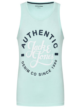 Jack&Jones Jack&Jones Tank top Moon 12182341 Zielony Regular Fit