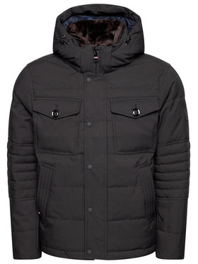TOMMY HILFIGER TOMMY HILFIGER Giubbotto invernale Removable Fur Hooded MW0MW16965 Nero Regular Fit