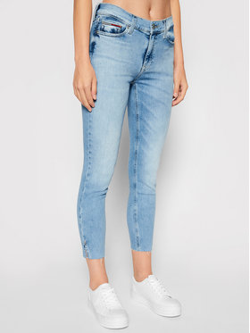 Tommy Jeans Tommy Jeans Traperice Nora DW0DW10279 Plava Skinny Fit