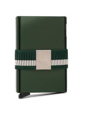Secrid Secrid Малък мъжки портфейл Cardslide CS Зелен