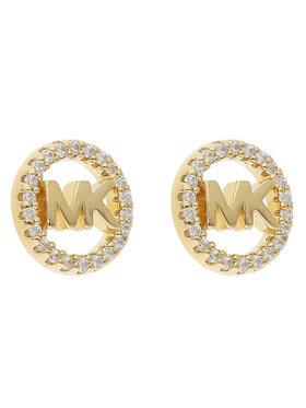 Michael Kors Michael Kors Naušnice Logo Circle Stud MKC1247AN710 Zlatna