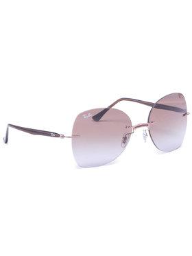 Ray-Ban Ray-Ban Okulary przeciwsłoneczne 0RB8066 155/68 Brązowy