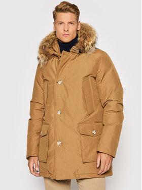 Woolrich Woolrich Zimní bunda Arctic CFWOOU0482MRUT0001 Hnědá Regular Fit