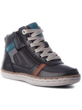 Geox Šnurovacia obuv J Garcia B. B J84B6B 0BCCL C9999 S Čierna