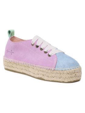 Manebi Manebi Espadrilky Sneakers D G 2.5 E0 Fialová