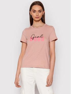 Vero Moda Vero Moda Tričko Boss 10262917 Ružová Regular Fit