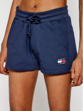 Tommy Jeans Tommy Jeans Pantaloni scurți sport Tjw Badge DW0DW09754 Bleumarin Regular Fit