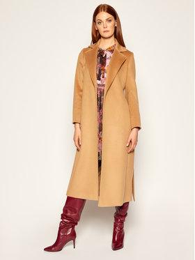MAX&Co. MAX&Co. Kabát pro přechodné období Longrun 40149520 Hnědá Regular Fit