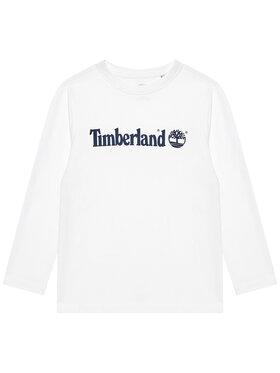 Timberland Timberland Bluzka T25S26 S Biały Regular Fit