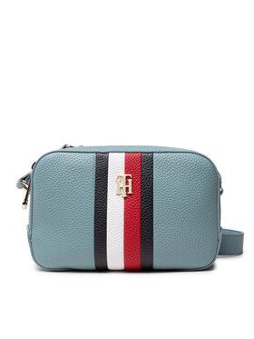 Tommy Hilfiger Tommy Hilfiger Handtasche Th Essence Camera Bag Corp AW0AW10229 Blau