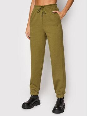 Gestuz Gestuz Spodnie dresowe Rubigz 10905447 Zielony Loose Fit
