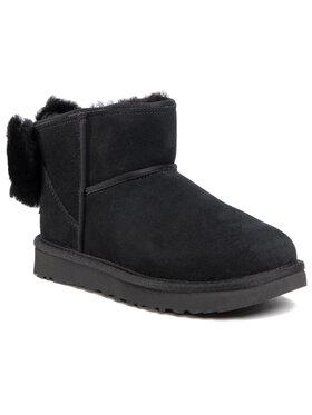 Ugg Ugg Обувки W Classic Mini Bow Черен