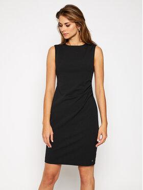 Calvin Klein Calvin Klein Koktejlové šaty Stretch Scuba K20K201113 Čierna Regular Fit