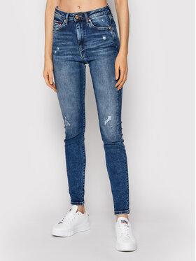 Tommy Jeans Tommy Jeans Jeansy Sylvia DW0DW10857 Granatowy Super Skinny