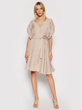 Imperial Imperial Marškinių tipo suknelė ABWVBHG Smėlio Regular Fit