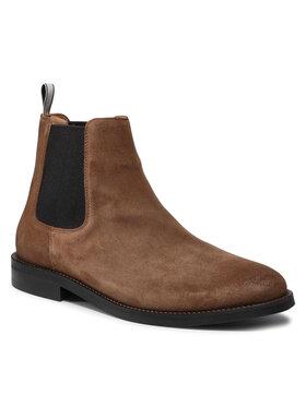 Gant Gant Členková obuv s elastickým prvkom Sharpville 23653209 Hnedá