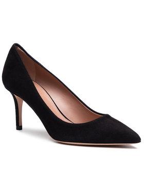 Boss Boss Pantofi cu toc subțire Eddie Pump 70-S 50389099 10199283 01 Negru