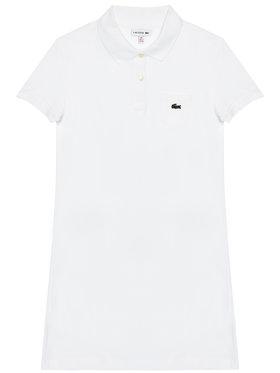 Lacoste Lacoste Každodenné šaty EJ2816 Biela Regular Fit