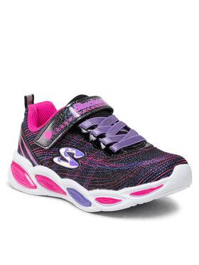 Skechers Skechers Sneakersy Sparkle Glow 20300L/BKMT Czarny