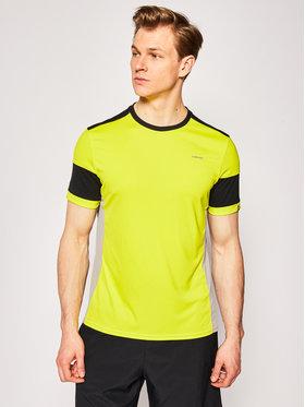 Head Funkčné tričko Volley 811330 Žltá Regular Fit