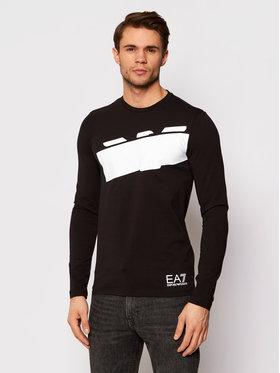 EA7 Emporio Armani EA7 Emporio Armani Тениска с дълъг ръкав 6HPT32 PJ3NZ 1200 Черен Regular Fit