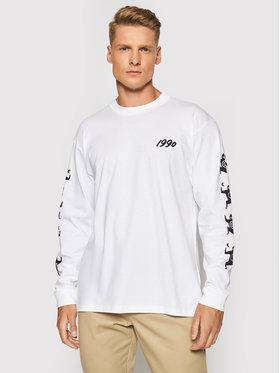 Carhartt WIP Carhartt WIP Тениска с дълъг ръкав Ninja Tune I029378 Бял Loose Fit