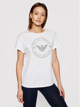 Emporio Armani Underwear Emporio Armani Underwear Marškinėliai 164340 1P255 00010 Balta Regular Fit