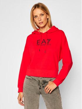 EA7 Emporio Armani EA7 Emporio Armani Sweatshirt 6HTM08 TJ31Z 1472 Rot Regular Fit