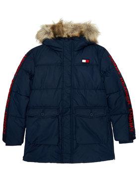 Tommy Hilfiger Tommy Hilfiger Vatovaná bunda Arctic Tape KB0KB05995 D Tmavomodrá Regular Fit