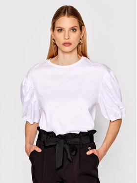 Imperial Imperial Bluzka TI90BAR Biały Regular Fit