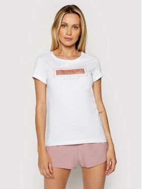 4F 4F Marškinėliai H4L21-TSD034 Balta Regular Fit