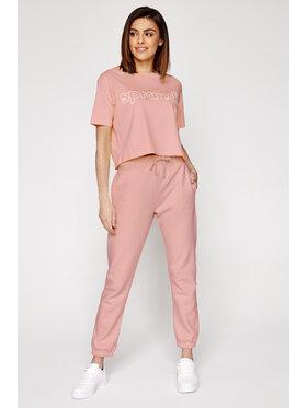 Sprandi Sprandi Spodnie dresowe Sprandi SS21-SPD003 Różowy Regular Fit