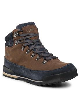 CMP CMP Παπούτσια πεζοπορίας Heka Hiking Shoes Wp 3Q49557 Καφέ