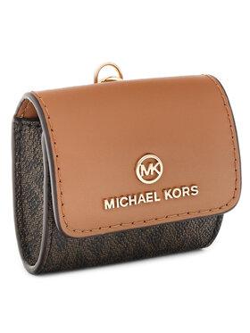 MICHAEL Michael Kors MICHAEL Michael Kors Etui na słuchawki Travel Accessories 34H0GTML0B Brązowy