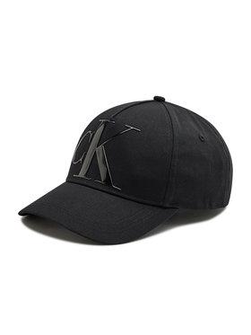 Calvin Klein Calvin Klein Καπέλο Jockey Deboss K60K608276 Μαύρο