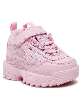 Fila Fila Sneakersy Disruptor E Infants 1011298.74S Ružová
