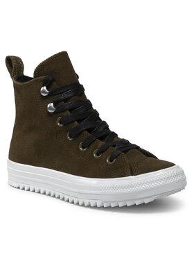 Converse Converse Sneakersy Ctas Hiker Hi 565238C Zielony