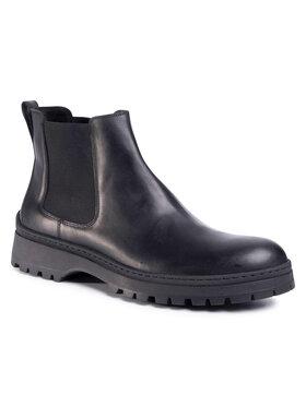 Gino Rossi Gino Rossi Kotníková obuv s elastickým prvkem Toro MSU215-293-0414-9900-F Černá