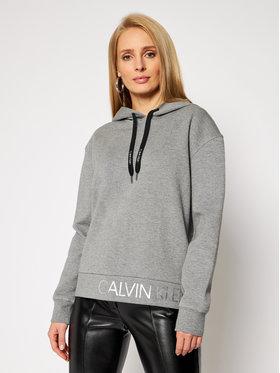 Calvin Klein Calvin Klein Mikina Ls Calvin Logo Hoody K20K202389 Sivá Relaxed Fit