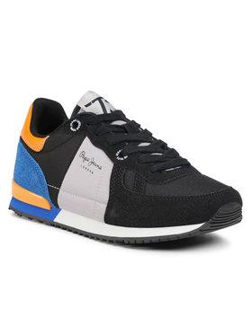 Pepe Jeans Pepe Jeans Sneakers Sydney Combi Boy PBS30452 Nero