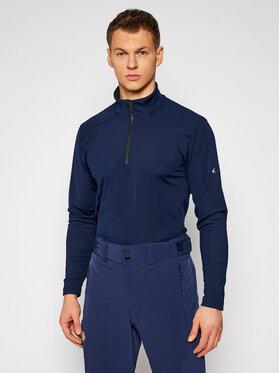 Descente Descente Technisches T-Shirt Piccard DWMQGB23 Dunkelblau Regular Fit