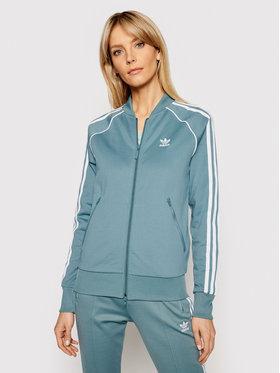 adidas adidas Sweatshirt Primeblue Sst Track GN2944 Grün Regular Fit