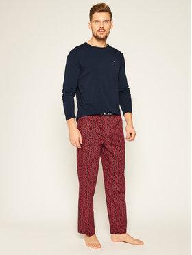 TOMMY HILFIGER TOMMY HILFIGER Pyjama Cn Ls Pant Woven Set Print UM0UM01960 Dunkelblau
