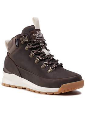 The North Face The North Face Chaussures de trekking Back-To-Berkley Mid Wp NF0A4AZFMJ4 Marron