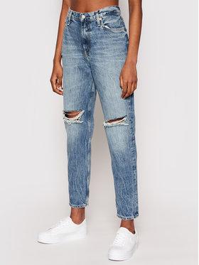 Calvin Klein Jeans Calvin Klein Jeans Jeansy J20J216350 Niebieski Mom Fit