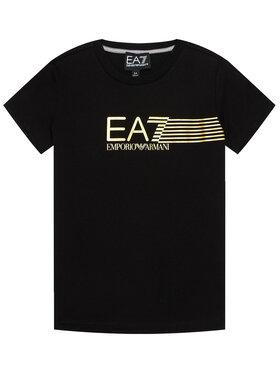 EA7 Emporio Armani EA7 Emporio Armani T-Shirt 3KBT54 BJ02Z 1200 Czarny Regular Fit