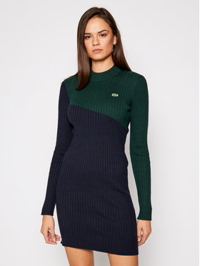 Lacoste Lacoste Vestito di maglia EF5702 Blu scuro Slim Fit