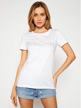 Patrizia Pepe Patrizia Pepe T-shirt 8M1190/A4V5-W103 Bijela Regular Fit